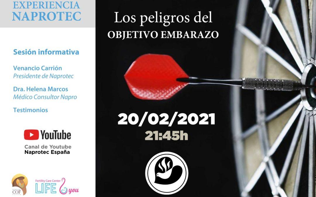 Sesión informativa online: Los peligros del OBJETIVO EMBARAZO